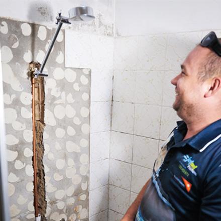 Leaking Shower Bulimba